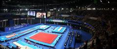 Gymnastics Arena (Worthing Wanderer) Tags: summer sport scotland clyde women glasgow july hydro gymnastics secc commonwealthgames glasgow2014 allaroundfinal