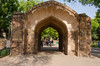 Delhi - Qutub Minar Complex Gateway (Le Monde1) Tags: india carved nikon vishnu arch delhi tomb columns courtyard mosque unesco worldheritagesite gateway sultan hindu cloisters minar masjid qutubminar northernindia iltutmish alauddinkhalji d7000 lemonde1 shamsuddiniltutmish vishnupada