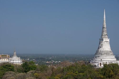 Phra That Chom Phet in Petchaburi, Thailand