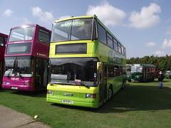 S876BYJ (The Green Bus) 21-09-2014 Duxford Showbus.1 (routemaster2217) Tags: transport duxford imperialwarmuseum iwm showbus2014