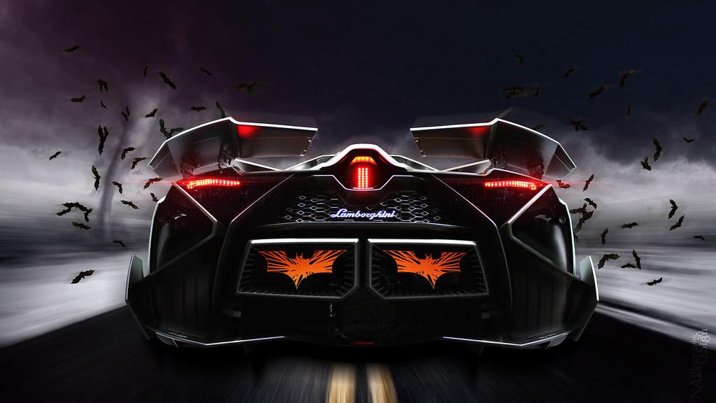 Lamborghini Egoista Robin Will Wait (Nike_747) Tags: Auto Road Blue Red Sky  Italy