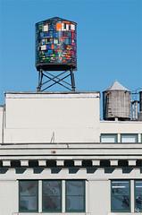 Watertower (noukorama) Tags: usa newyork tower water glass brooklyn tank watertower dumbo stained tomfruin rs