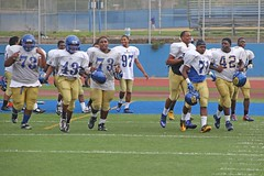 D109272A (RobHelfman) Tags: sports losangeles football highschool practice crenshaw
