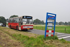 373 op de Veluwe (GVB813) Tags: bus amsterdam museum bram bushalte veluwe csa gvb daf bussen vsm rondrit stadsbus lieren gvba csa2 hainje museumbus gvbamsterdam csaii gvb373 stichtingbram bram373