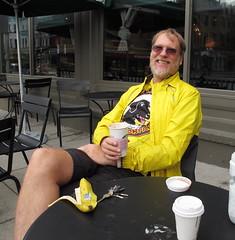 WABA 50 States 13 Colonies 2014 Robert (Mr.TinDC) Tags: friends people robert coffee cyclists washingtondc dc starbucks biking adamsmorgan waba 50statesride robertcannon waba50statesride 13coloniesride