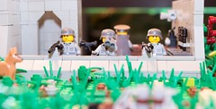 Bunker (legomocww2) Tags: lego bunker ww2 normandy axis allies germans