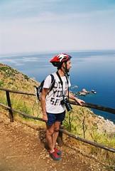 Landscape Survey (Nastasiya-k) Tags: sea summer italy film nature colors reserve sicily sicilia tyrrheniansea zingaro scopello canoneos300v agfacolor200
