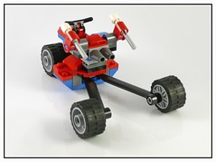 LEGO Marvel Super Heroes 76014 Spider-Trike vs Electro 03 (noriart) Tags: lego super electro heroes vs marvel 76014 spidertrike