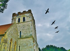 On A Wing and A Prayer (hurlham) Tags: thames riverside churches