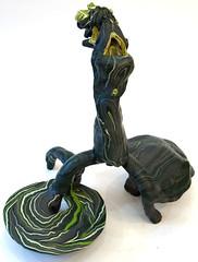 Petrified (Daniel Wiener) Tags: sculpture color art table furniture heads twisted 2014 contemporarysculpture 2013 apoxiesculpt