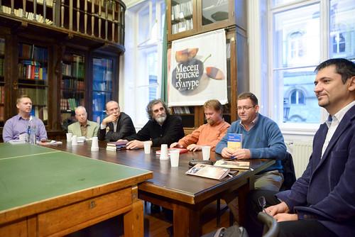 """20140925_ELTE """"Књиге и аутори"""" – Своје књиге представљају аутори у Мађарској"""