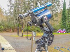 Serious Business. (Loowit Imaging - Steve Rosenow, Photographer) Tags: meade meadelx200 meadetelescope telescope space science astronomy solareclipse nikon nikond5100 nikond5500 nikoncoolpixp500