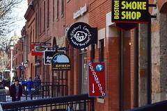 Newbury Street Comics (AntyDiluvian) Tags: boston massachusetts backbay newburystreet newburycomics condomworld stores shops