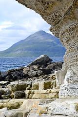 Honeycomb Weathering, Elgol (edward.butleredb) Tags: honeycomb weathering honeycombweathering scotland elgol beach cliffs cliff erosion geology rocks sediment