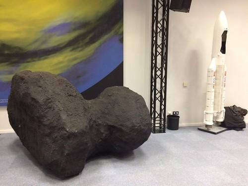 Chury comet and Ariane 5