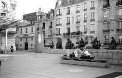 Musée d'orsay (Guillaume Vigier) Tags: olympus olympus35rc paris france film bw streetphotography