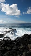 The real reason (LeftCoastKenny) Tags: chile easterisland isladepascua day19 hangapoukura pacificocean surf rocks blowhole rapanuinationalpark