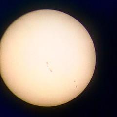 #sunspots #telescope #refractor #solarfilter (Roxie's Flickr) Tags: instagram april 01 2017 0336pm sunspots telescope refractor solarfilter httpswwwinstagramcompbsxbzi1jwbt