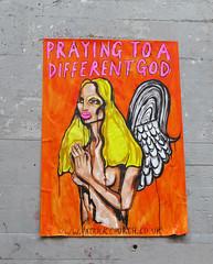 Pasted paper by Patrick Church [Paris 4e] (biphop) Tags: streetart paris france pasteup church collage paper europe wheatpaste patrick pasted marais wheatpaper