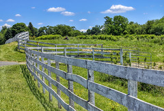 open gates (Van Luvender) Tags: june rural fence newjersey gate farm sykesville vanluvender canonefs60mmf28macrousm canoneos70d