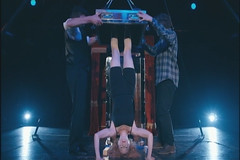 Dayle Krall Performing Houdini's Chinese Water Torture Cell (Dayle Krall:Most Accomplished Female Escape Artist) Tags: television perspectives wtc biopic houdini adrianbrody historychannel davidcopperfield jimcollins jonathancreek alandavies kennethsilverman richardsherry watertorturecell hardeen kristenconnolly daylekrall femaleescapeartist ladyhoudini sherryandkrallmagic themagicofhoudini thehoudinigirl movies2014 themagicofhoudiniwithalandavies historychannelhoudini houdinibiography