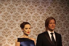 Angelina Jolie og Brad Pitt (Benny Hünersen) Tags: madame holiday london museum britain may mai wax angelina jolie pitt ferie figur tussauds madametussauds maj 2014 brangelina voks ¨brad