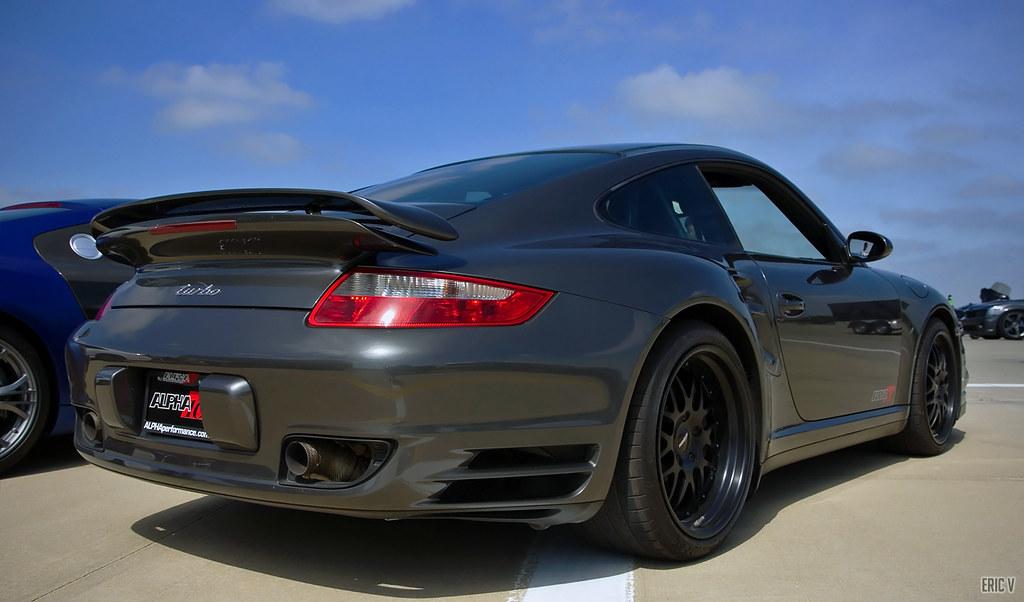 d8fa8d515a2a AMS 997 Turbo (evogz) Tags  chicago cars sports car race germany grey  illinois