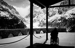 Mueve mis sueos (unique rose) Tags: mountains oldman pointofview enjoy illness montenvers