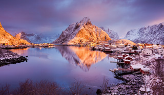 Earth Smiled | Reine, Lofoten, Norway