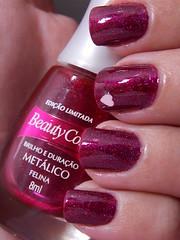 Na Mira 3D - Impala + Felina - Beauty Color (Natalia Breda) Tags: glitter vermelho coração impala beautycolor esmaltenacional