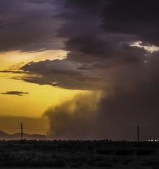 Monsoon season begins (Arizona Parrot) Tags: arizona monsoon monson duststorm haboob monsonmonsoon