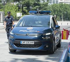 Nuevo Citroen C4 Policia Nacional (juanemergencias) Tags: