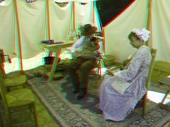 Civil War Re-enactment in 3D (Edward Mitchell) Tags: civil war civilwar battle reenactment history historical 3d stereoscopic stereoscopy willamette mission state park salem oregon coldstreams edwardmitchell