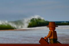 Lego Beach Toy - 4 (@cpe) Tags: sea mer beach toy lego sable vague plage atlantique