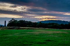 War memorial Pontypridd Common (rdgriff92) Tags: sunset sky grass landscape memorial war common pontypridd valleys