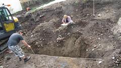 Bratananium Gauting (catarina.berg) Tags: archaeology germany bayern deutschland bavaria digging shards romanempire romans excavation gauting ancientrome bratananium garbadgepit