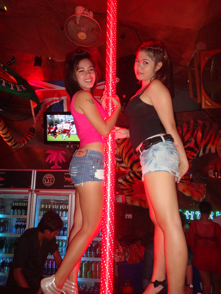 Hot girl upskirt bar