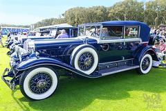 1931 Cadillac 452A V16 Phaeton at Amelia Island 2014 (gswetsky) Tags: classic island antique cadillac amelia concours phaeton v16 ccca delegance 452a