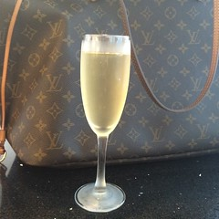 11 July 2014 - a glass of Veuve Cliquot champagne to celebrate exchanging contracts on my flat - Chelsea, London (Annabel Sheppey) Tags: road uk england london glass louis jones chelsea flat sale champagne flute celebration peter kings exchange vuitton contracts veuve sw3 cliquet