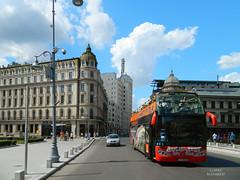 Victory Road, Bucharest (Carpathianland) Tags: street people architecture strada pedestrian streetscene scene romania pedestrians scena streetscape bucuresti piata calea victoriei oameni bulevardul arhitectura trecatori stradala