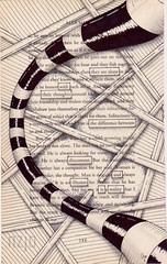 reality (Jo in NZ) Tags: blackandwhite drawing foundtext foundpoetry zentangle nzjo