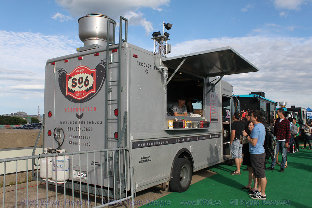 Food Truck Montreal Stade Olympique