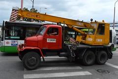 2014_Szlovkia_2074 (emzepe) Tags: red truck drive crane praga camion slovensko slovakia slowakei augusztus kirnduls trnava lkw 2014 szlovkia piros v3s nyr darus ckd 6wheel szlovk slovakie nagyszombat terepjr felvidk teheraut tyrnau daruskocsi felvidki hatkerkmeghajtsos