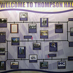 Thompson Hall Lobby History Wall
