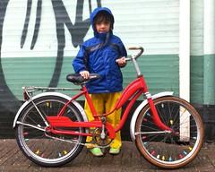 P1-Project-City-Bike 2 (@WorkCycles) Tags: old city bike vintage cool fifties child belgium belgie president retro henry 1950s restoration oud p1 tailfin restauratie kinderfiets stadsfiets workcycles revisie
