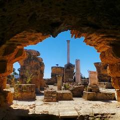 Antonine Baths of Carthage, roman ruins... (7-bc) Tags: rome archaeology tunisie thermes uploaded:by=flickstagram instagram:photo=76870408725157041617785338 instagram:venuename=antoninebaths2ccarthagetunisia instagram:venue=241451710