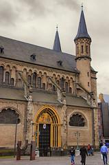 Bonner Munster (Smiley Man with a Hat) Tags: church germany deutschland spring bonn kirche rhine 2014 westphalia northrhinewestphalia munsterplatz bonnermunster