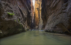 Hiking The Narrows - Zion National Park, Utah (helikesto-rec) Tags: river utah hiking zion zionnationalpark virginriver thenarrows