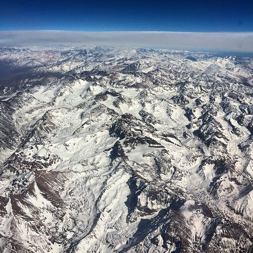 Cordillera de los Andes.