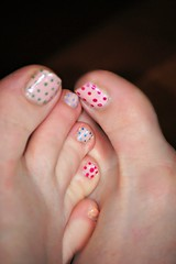 Pok-a-dot piggies (tammye*) Tags: feet colorful toes painted spots winner pedicure dots multicolor piggies tcf unanimous unanimouswinner thechallengefactory tcfwinner picmonkey:app=editor unanimouswinner0814